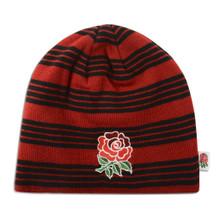Canterbury England Stripe Beanie - Crimson Red