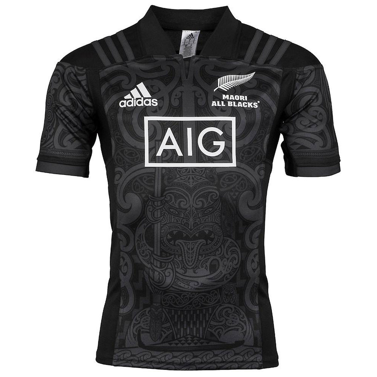 0cea25d5324 New Zealand Maori All Blacks 2017 Short Sleeve Rugby Jersey - Rugby City