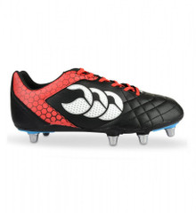 Canterbury Stampede Club 8 Stud - Black/Red