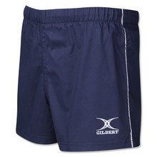 Gilbert Performance Match Rugby Shorts Navy