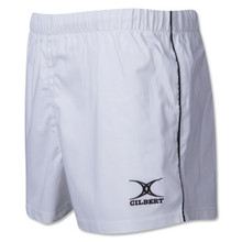 Gilbert Performance Match Rugby Shorts White