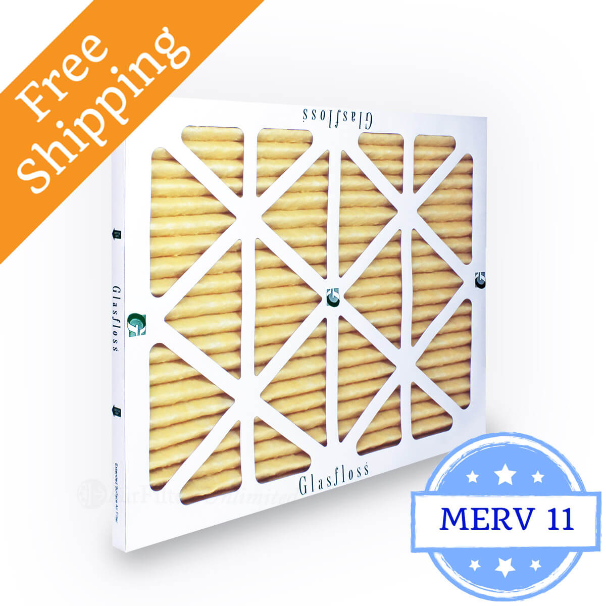 Glasfloss 16x30x1 Air Filter MR-11 Series