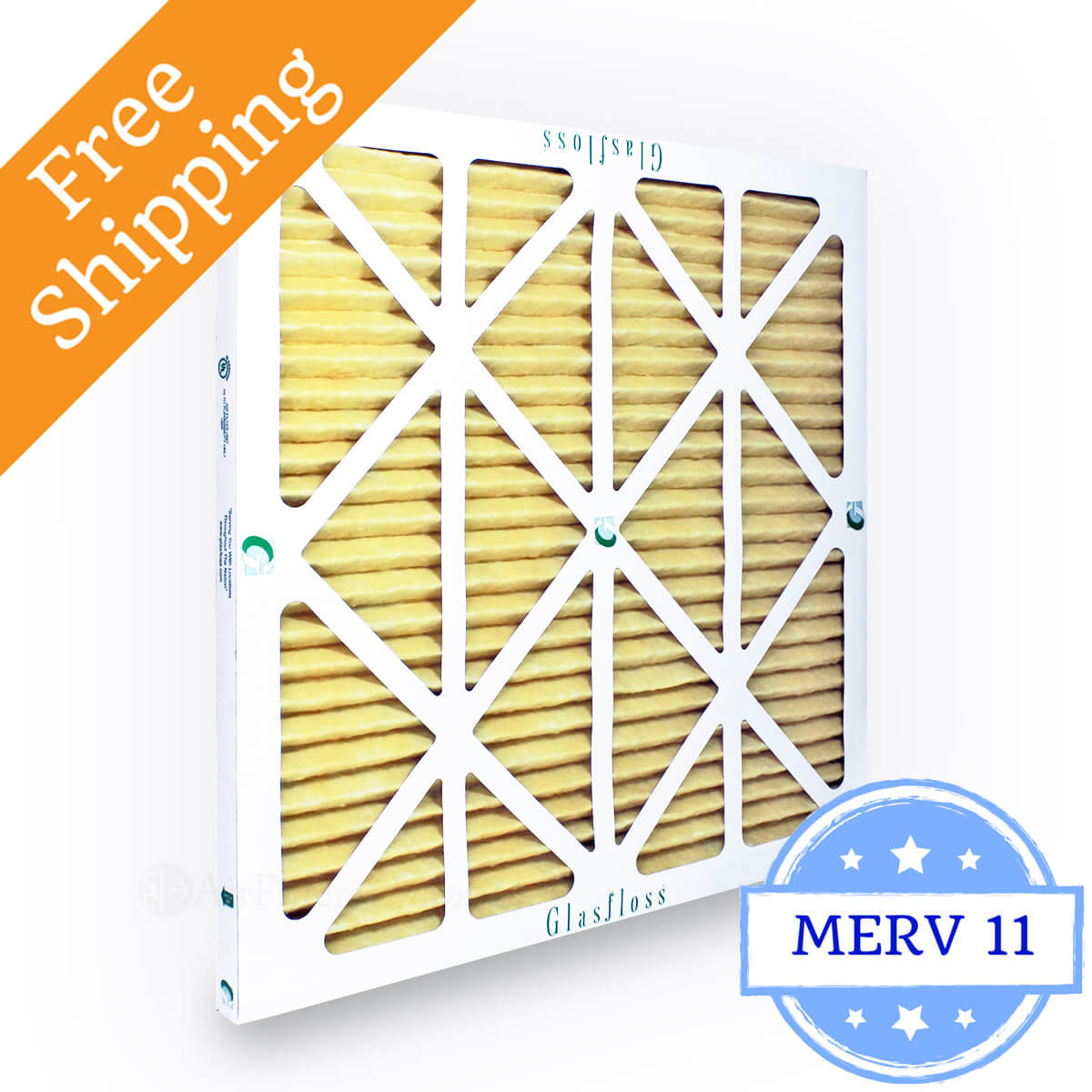 Glasfloss 16x16x1 Air Filter MR-11 Series