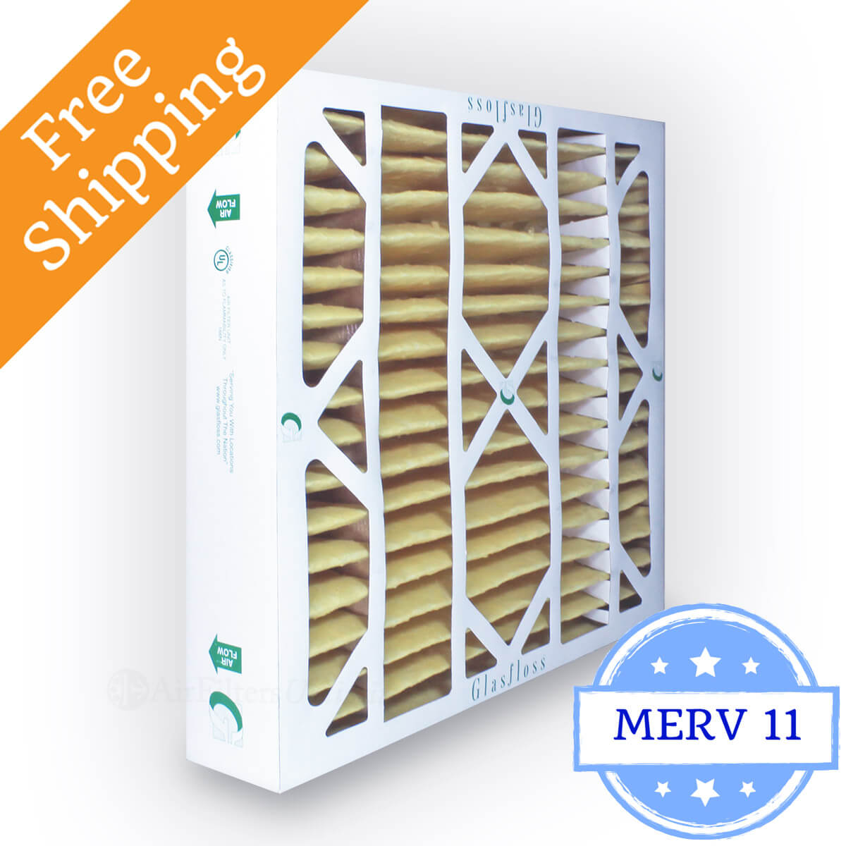 Glasfloss 20x20x4 Air Filter MR-11 Series