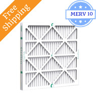 20x20x2 Air Filter ZL Series MERV 10 by Glasfloss