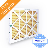 16x30x1 Air Filter MERV 11 Glasfloss Z-Line