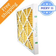 15x20x2 Air Filter MERV 11 Glasfloss Z-Line