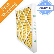 18x18x2 Air Filter MERV 11 Glasfloss Z-Line