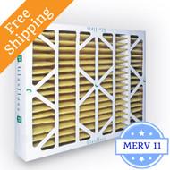 16x25x4 Air Filter MERV 11 Glasfloss Z-Line