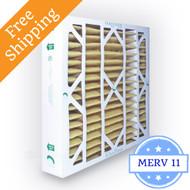 20x20x4 Air Filter MERV 11 Glasfloss Z-Line