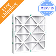 16x25x2 Air Filter MERV 13 Glasfloss Z-Line