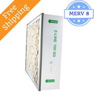 16x27x6 SGP16276 700 SG MERV 8 #401 Replacement - Glasfloss