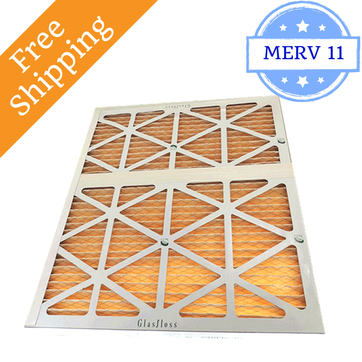 28x30x2 Air Filter Merv 11 For Geothermal Glasfloss Box