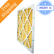 28x28x1 Air Filter MERV 11 for Geothermal