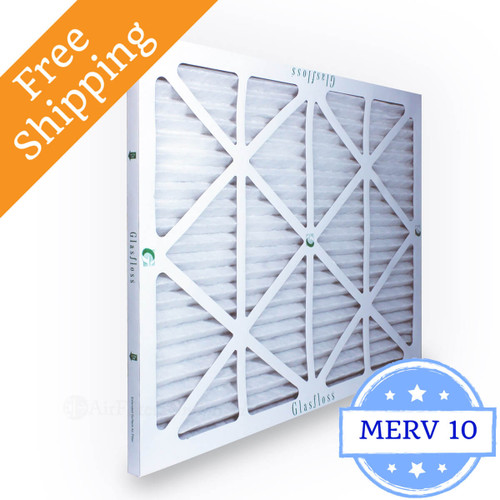 28x34x1 Air Filter Merv 10 For Geothermal Glasfloss Box
