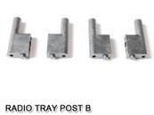 HSP Radio Tray Post B For RC 1/10 Model Car Spare Parts 02047