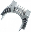 HSP 61010p  heat sink with Fan fitting mount