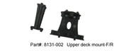 DHK RC CAR PARTS 8131-002 Upper deck mount-F/R