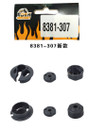 DHK RC CAR PARTS 8381-307 Lower shock mount/piston/O ring(dia 13mm*dia 1.5mm)