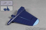 1400mm FMS F4U Corsair V3 Vertical Stabilizer