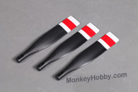 FMS 1400mm T-28 MI107 V3/V4 version Propeller Set - Red/ Grey FMSPROP005