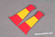 FMS 1400mm P-51D Red Tail Outer Fairing Door