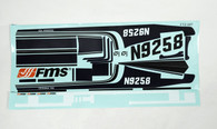 FMS 1400mm Sky Trainer 182 Decal Set - Blue