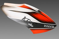 Hand Painted Canopy KDS 450 KDS-1047-1-SD Orange