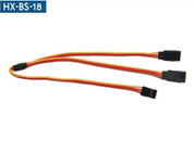 JB Straight Y LEAD 26AWG KDS HX-BS-18-300