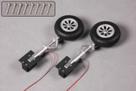 FMS 1.4M P51D V8 SU141 Main Landing Gear sys. struts and retracts