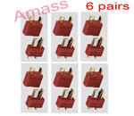 Amass Anti-slip Dean plug female & male ( 6 pairs)