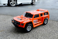 HSP DAKAR H140,1/14 Trophy Truck 94349,Orange Body:34991