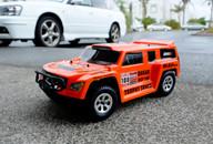 HSP DAKAR H100, 1/10 94128 Trophy Brushless Truck PRO RTR, Orange Body:12891