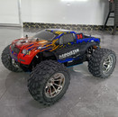 HSP 94188 1/10 RC Remote Control Nitro Gas Powered Monster Truck 4WD W/VX18 Engine,blue top engine W/2.4GTransmitter(#80300),Body:88042