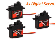 KDS 2014 latest Digital 9g servo (3pcs)