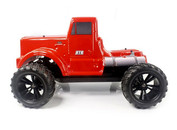 HIMOTO Road Warrior 1:10 SCALE RTR 4WD ELECTRIC POWER MONSTER TRUCK BIG PETE W/2.4G REMOTE Red 31901