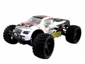 HIMOTO Mastadon 1:18 SCALE RTR 4WD ELECTRIC POWER TRUCK W/2.4G REMOTE white 28710