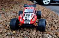 DHK Raz-R 8134 1:10 Scale 4WD Brushed Stadium Truck W/Charger, W/RED BODY