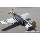 Dynam 1200mm P51 P51D Mustang RC Warbird PNP DY8939