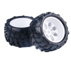 HSP 62012 Wheels Rims & Tyres complete x 2 Pcs For 1/8 HSP Parts