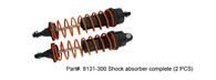 DHK RC CAR PARTS 8131-300 Shock absorber complete (2 PCS)