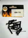 DHK RC CAR PARTS 8381-715 B head screw(BM3*20mm) (16 pcs)
