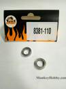DHK RC CAR PARTS 8381-110 Ball bearing(dia 10mm*dia 15*4mm) (2 pcs)