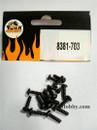 DHK RC CAR PARTS 8381-703 B head screw coarse thread (BB3*10mm) (16 pcs)