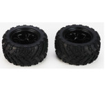 DHK RC CAR PARTS 8384-001 Tire complete  (2 pcs)