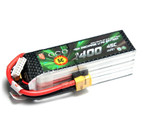 Gens ace 1400mAh 22.2V 45C 6S1P High Discharger Lipo Battery Pack