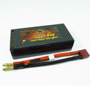 GIANT POWER LC-2S4400HC LIPO 4400mAh 7.4V 65C with CF Short Hardcase Deans