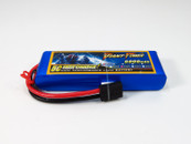 GIANT POWER DS-2S6000DH LIPO 6000mAh 7.4V 35C Fixed Wire Hardcase Deans
