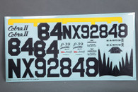 RocHobby P-39 KG118 Decal Sheet