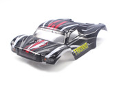 HIMOTO 1:18 E18SC Short Course Body-Black 28660